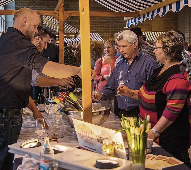 So, wie im vergangenen Jahr, geht es bei der Weinmesse zu.   | Foto: Archiv: Olaf Michel