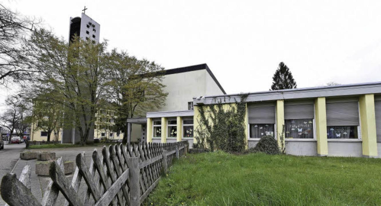 Aus dem Anfang der 1960er Jahre stammt die Thomaskirche im Stadtteil Zähringen.   | Foto: Thomas Kunz