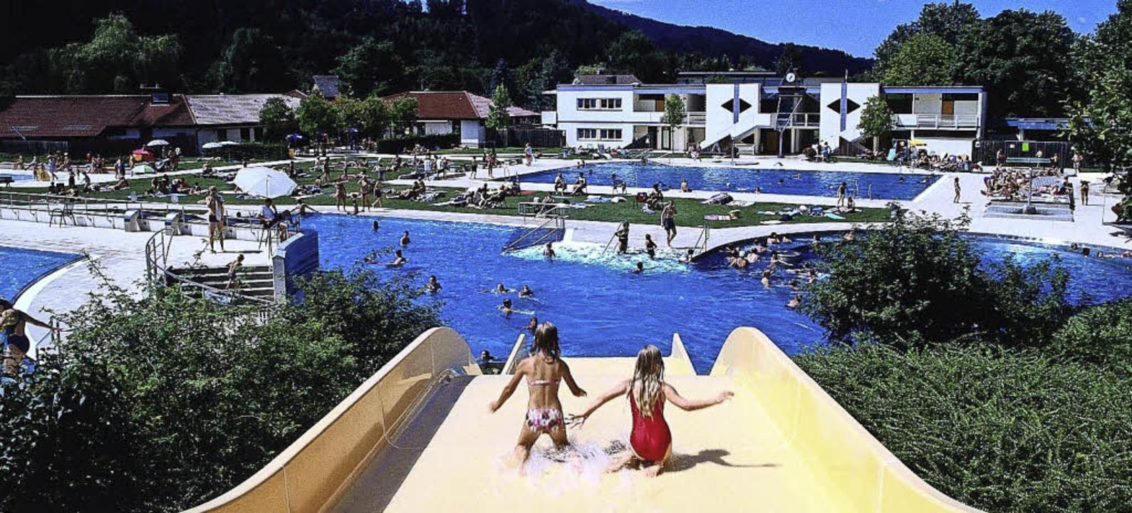 Ein Eldorado für Erholungssuchende: Im...eisambad in Kirchzarten heiß begehrt.   | Foto: Gemeinde