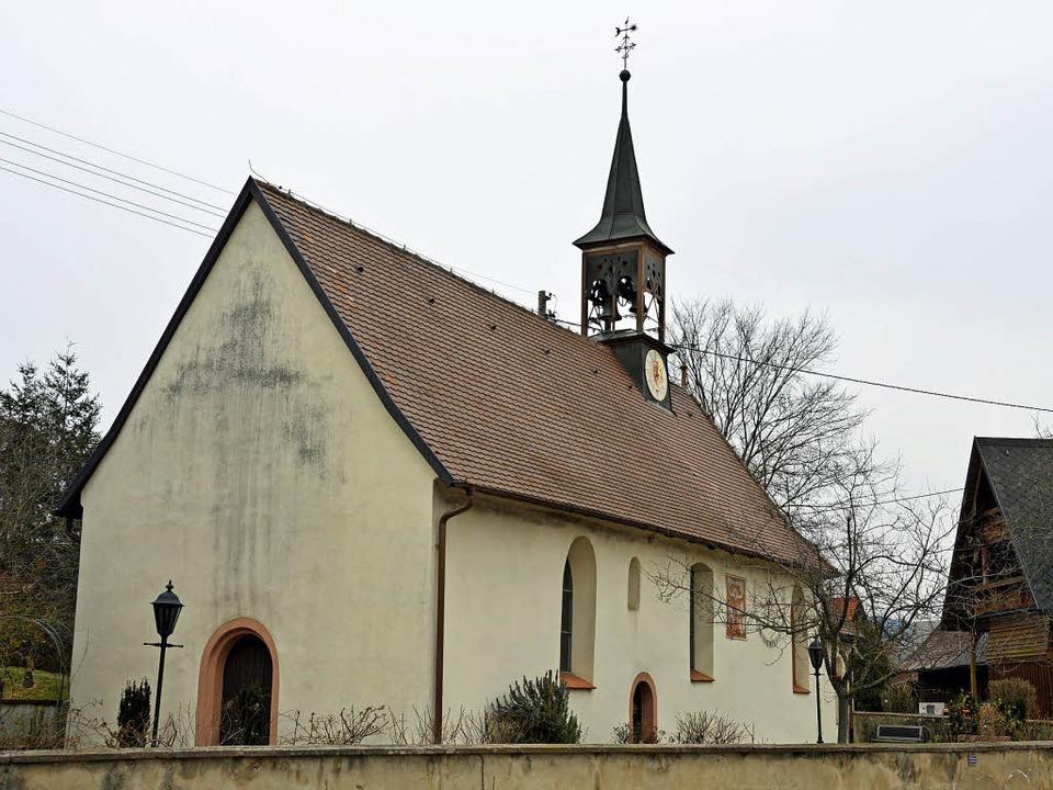 Die St. Johanneskapelle an der alten B...0 Jahren erstmals urkundlich erwähnt.   | Foto: Gerhard Lück