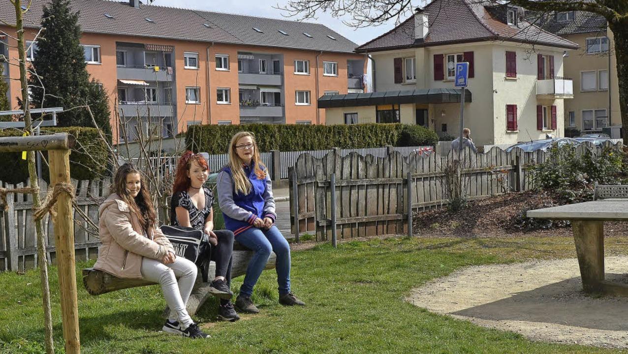 Ein Dreh- und Angelpunkt in Oberrheinfelden ist der Spielplatz Schwedenstraße.   | Foto: Ingrid Böhm-Jacob