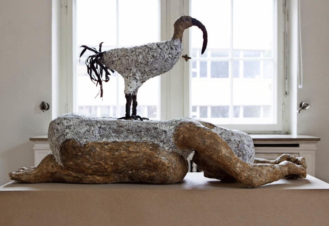 Der Ibis, seine schützenden und heilenden Kräfte symbolisierend  | Foto: Photographer: Gabriele Zahn