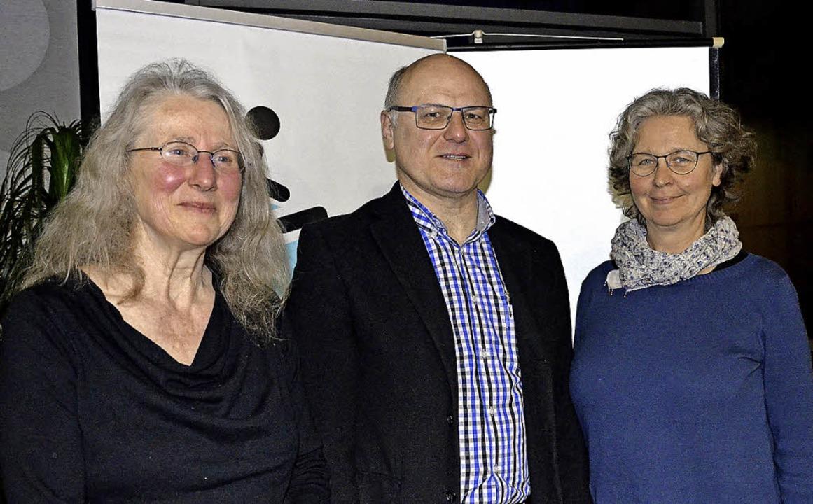 Im Amt bestätigt: Schriftführerin Anni...er, Stellvertreterin Heika Dörflinger   | Foto: Britta Wieschenkämper