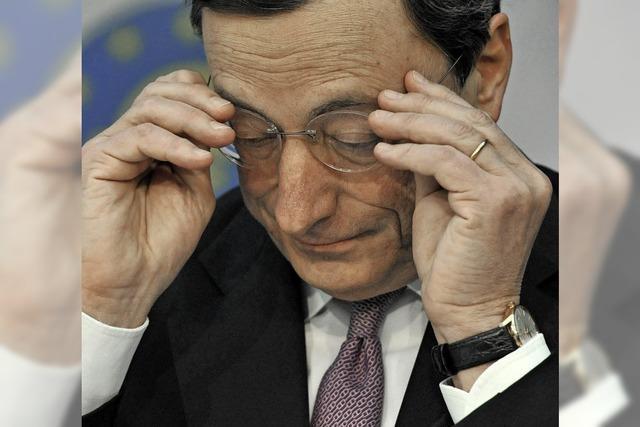Die geldpolitischen Falken sind in der EZB in der Minderheit