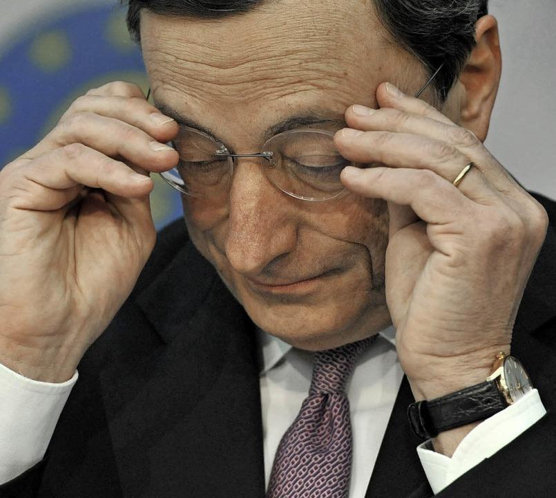 Mario Draghi  | Foto: EZB