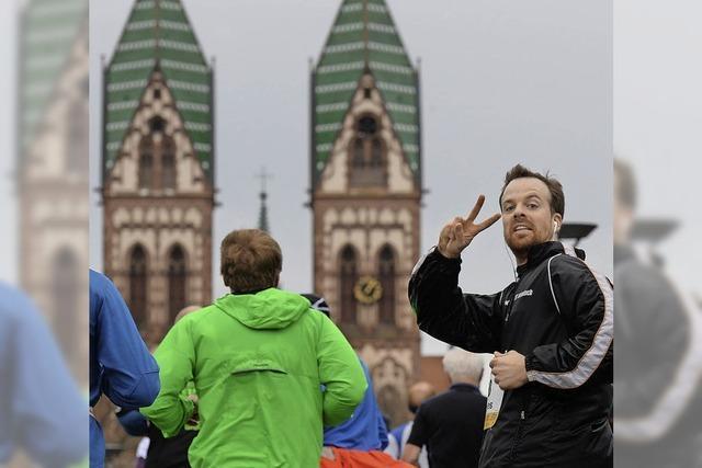 Wärme, Rekorde und Integration beim Freiburg-Marathon