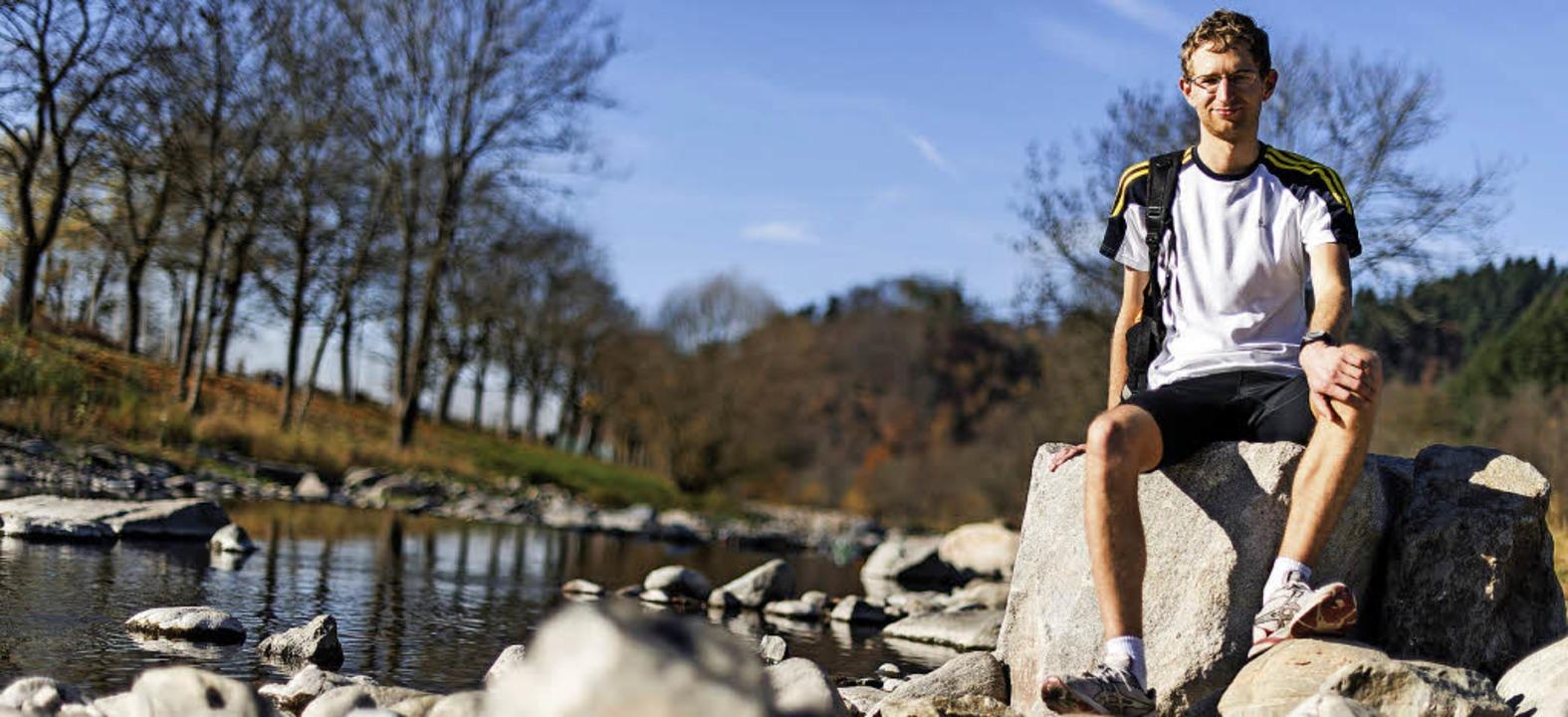 Der Mensch kann nicht immer nur gehen,...de als  reißender Fluss präsentierte.     Foto: Patrick Seeger