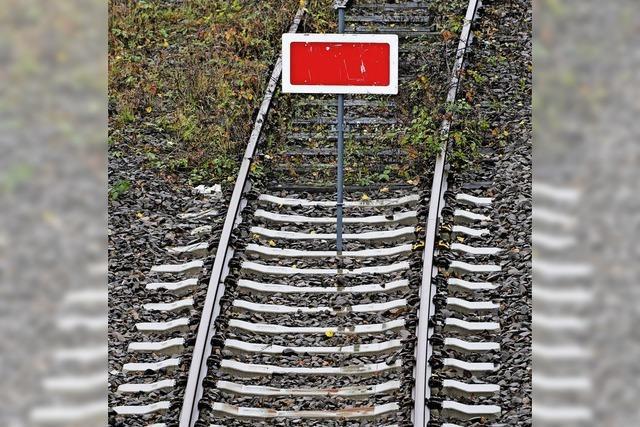 Gleissperrung sorgt für Ärger