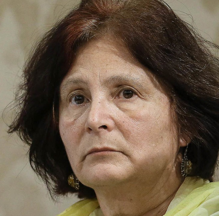 Die Mutter des Opfers, Paola Regeni     Foto: dpa