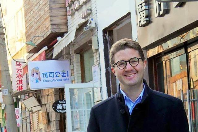 Freiburger ist Manager bei chinesischem Technikkonzern