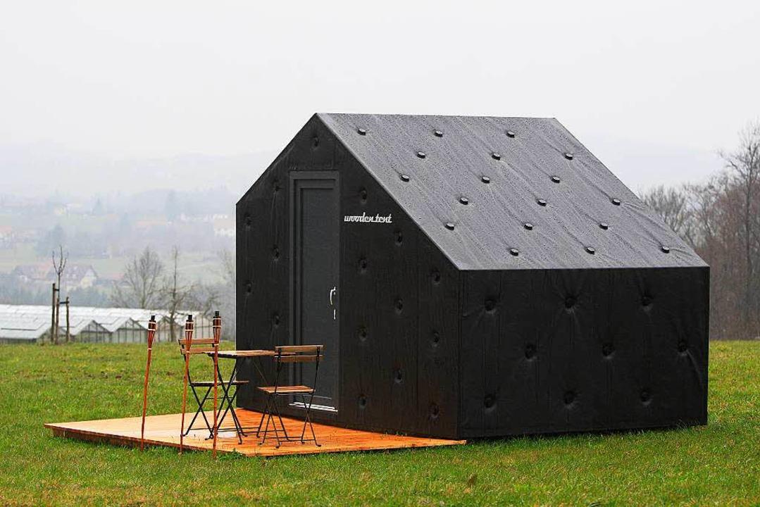 Der aus Freiburg stammende Architekt P...ruiert - der Prototyp steht in Freiamt    Foto: Patrik Müller