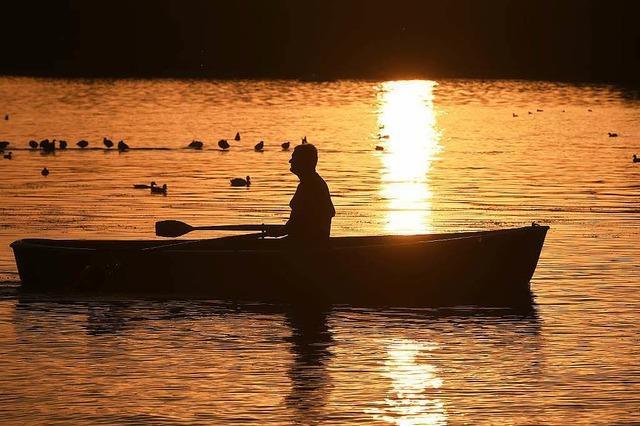 Ruderboot aus Garten gestohlen