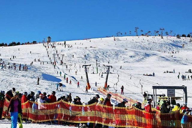 Skisaison am Feldberg endet