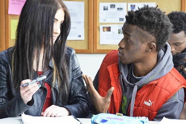 So gelingt Integration in der Gewerbeschule in Schopfheim