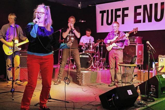 Isolde Wawrin trifft auf Tuff Enuff
