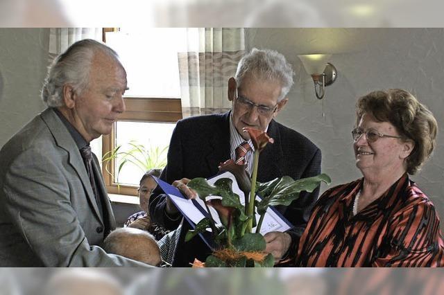 Helga Vetter ist Ehrenmitglied
