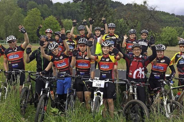 Mountainbiker eröffnen Saison