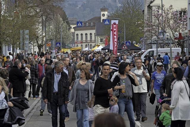 Müllheimer Autoschau lockt Tausende Besucher an