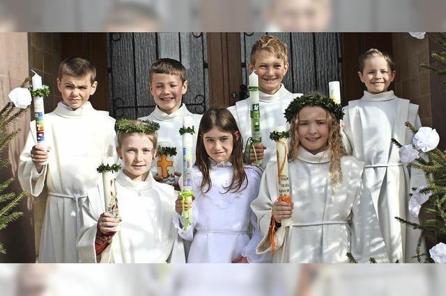 Weißer Sonntag in Unadingen