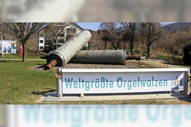 Weltgrößte Orgelwalzen