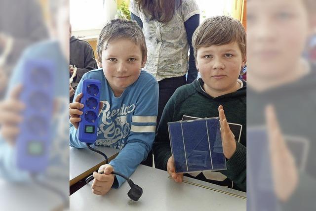 Energiesparen ist ein Kinderspiel