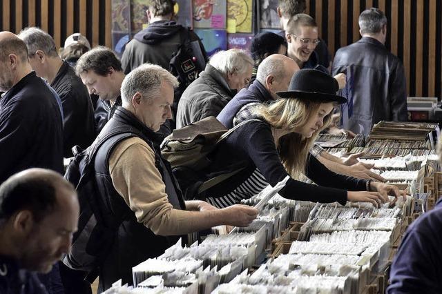 Die Freiburger Plattenbörse ist ein Pflichttermin für Sammler