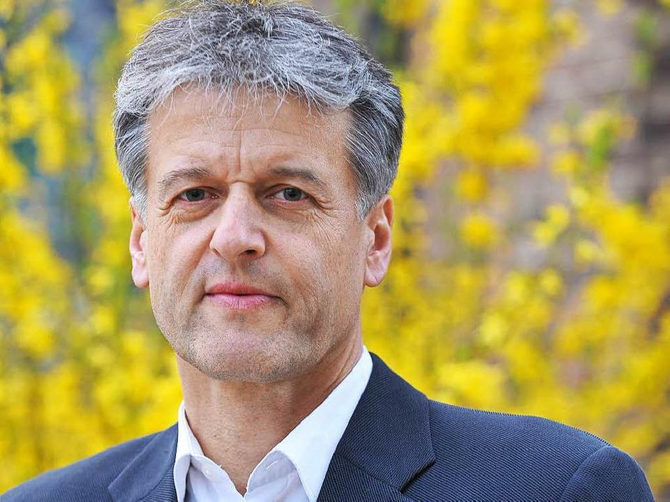 Gunther Braun gewinnt die Bürgermeisterwahl in Steinen    Foto: BZ
