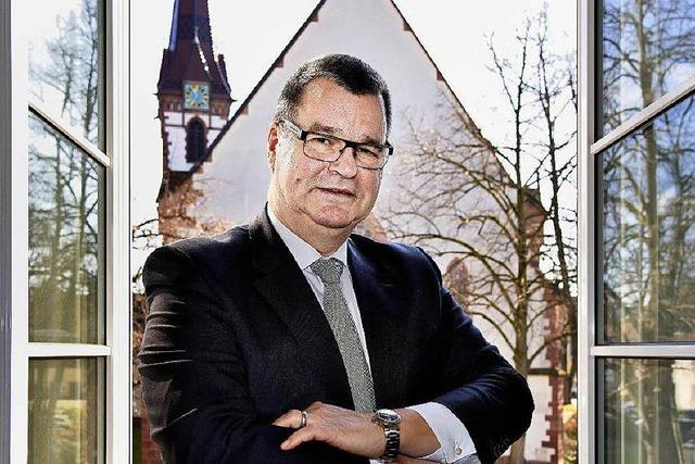 Matthias Guderjan bleibt Bürgermeister in Kenzingen