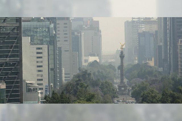In Mexiko-City ist die Luft schlecht wie lange nicht mehr