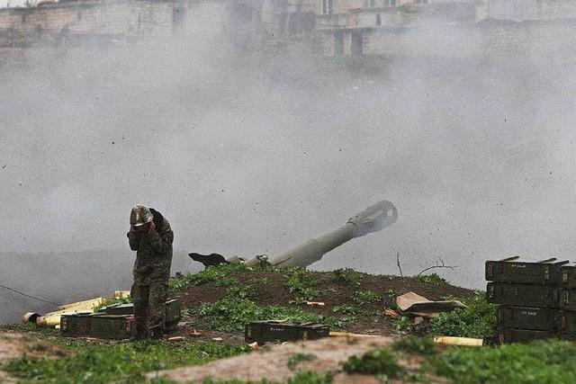 Mehr als 30 Tote bei Kämpfen in Berg-Karabach