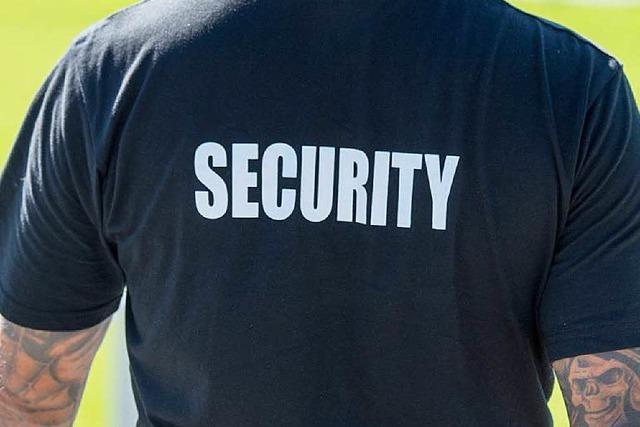 Defizite: Regierungspräsidium überprüft Sicherheitsdienste
