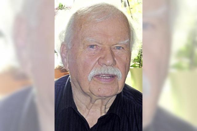 Dieter Borchert wurde 80 Jahre