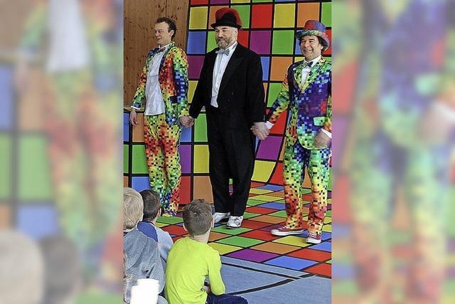 Theaterspaß für Kinder hoch drei