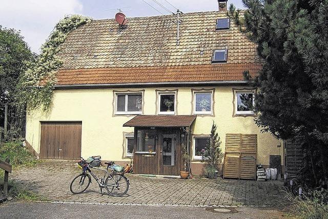 Moderner Wohnraum im Bauernhaus