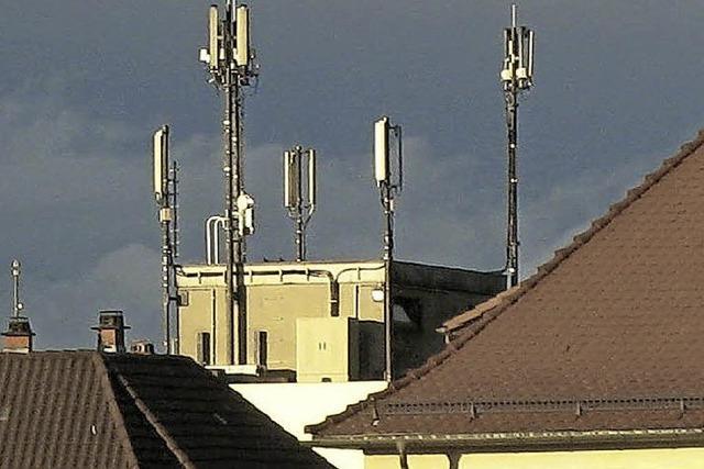 Weitere Antennen für den Mobilfunk