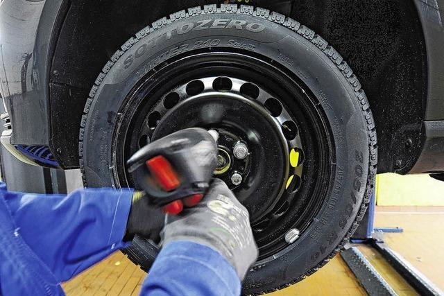 Zoll hat zurzeit ein Auge auf die Reifen