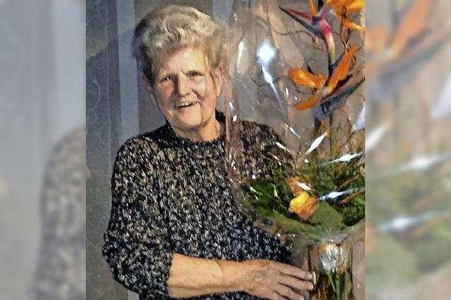 Elinor Wagner seit 50 Jahren Übungsleiterin