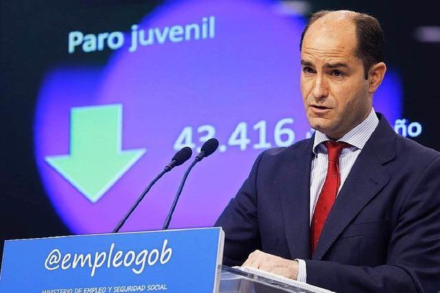 In Euroland sinkt die Zahl der Arbeitslosen