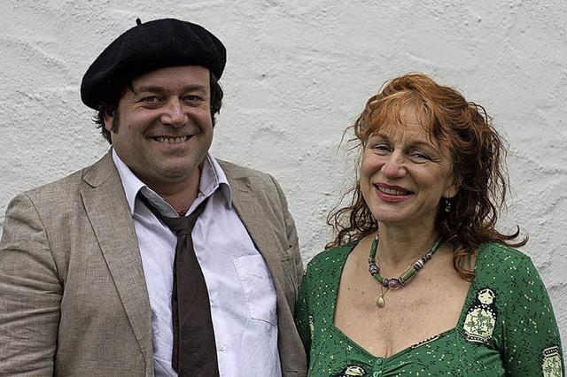 Andrea Gawaz und Tobias Kirchmeyer in Müllheim