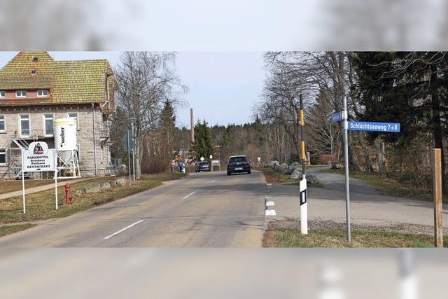 Tempo 30 auf der L 157 in Rothaus?