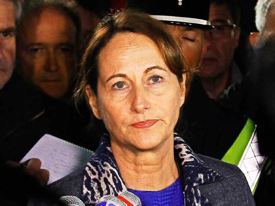 Ségolène Royale, Frankreichs Umweltministerin  | Foto: DPA
