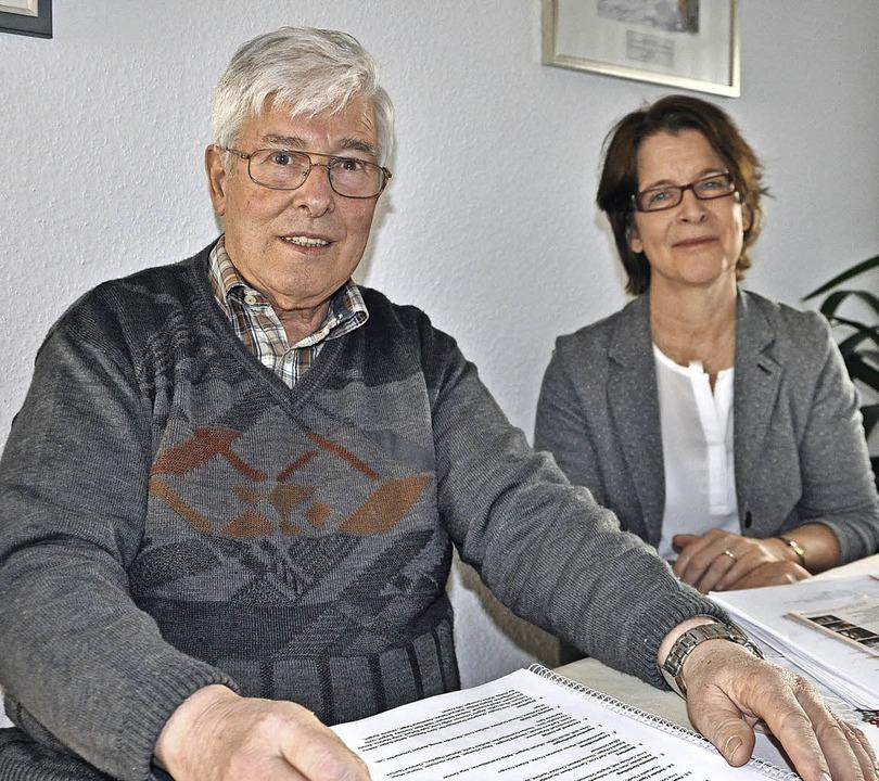 Freuen sich auf das Fest: Gerhard Philipp und Inken Dengler   | Foto: Ruther