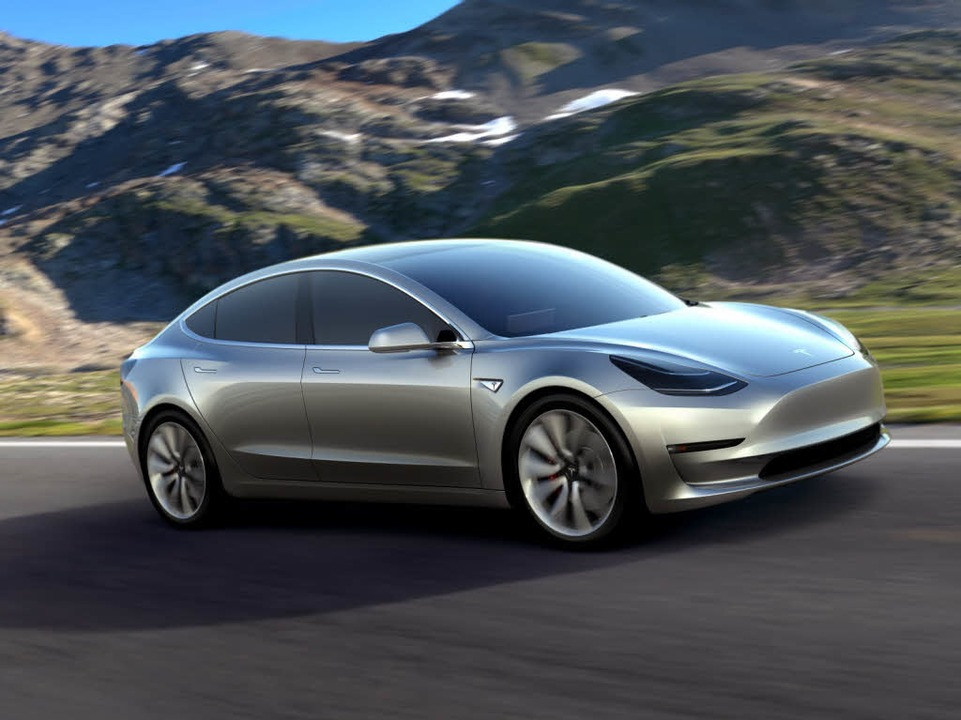 Das neueste Tesla-Modell  | Foto: tesla motors