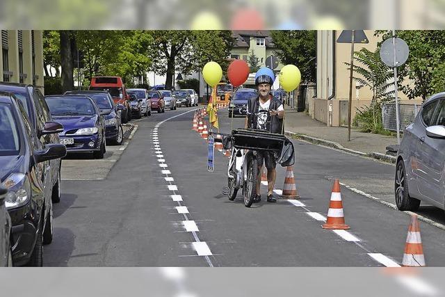 Fahrradstreifen auf Werderstraße kommt wieder weg