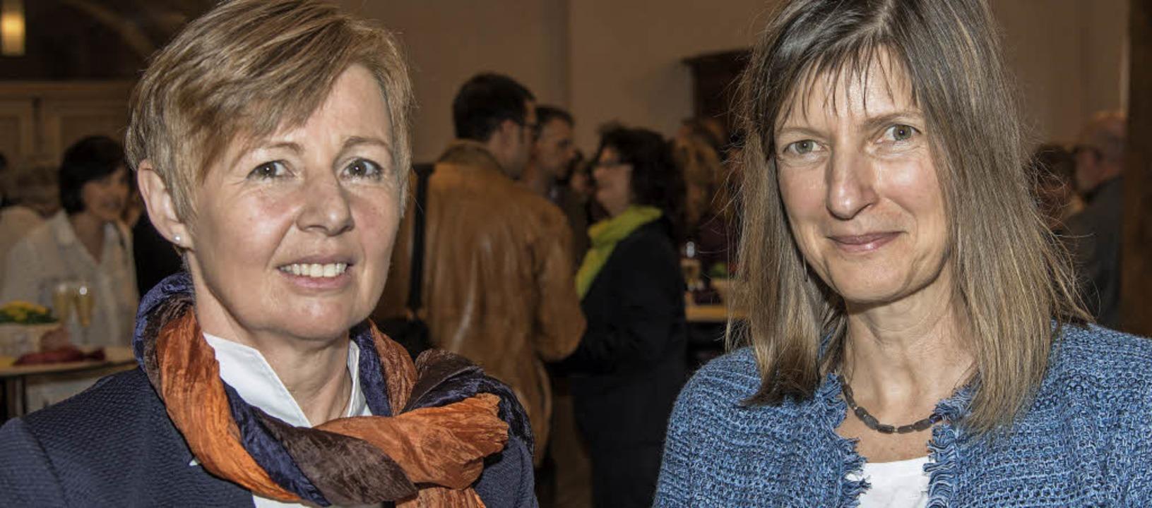 Susanne Dippel-Mietz (links) ist die n...ie Aufgabe von Heike Labusga (rechts).  | Foto: Olaf Michel