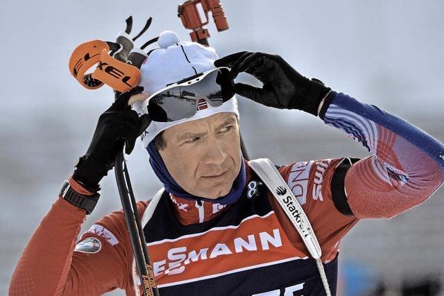 Björndalen möchte im Biathlon noch etwas erreichen