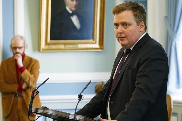Verwirrung in Island: Ministerpräsident will nicht zurücktreten