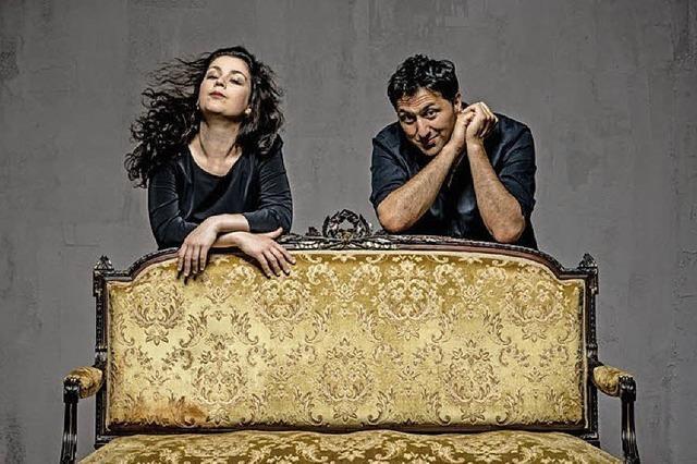 Rahmentrommel trifft auf Piano: Murat Coskun und Marina Baranova konzertieren im E-Werk Freiburg