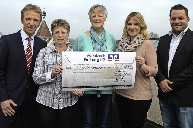 6000 Euro für drei Projekte