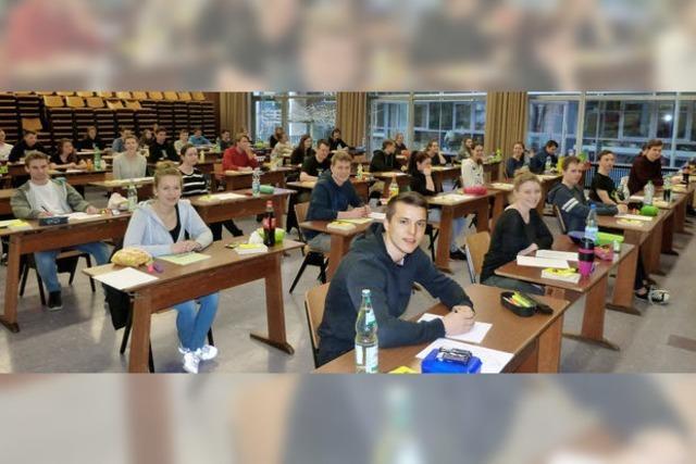 Abi-Auftakt am Gymnasium in Kenzingen